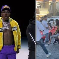 Rapper DaBaby and associates face charges after violent attack on LA homeowner, 64, who was protesting their volation of the rental agreement - Shocking video emerges showing the vicious beating after video shoot in LA