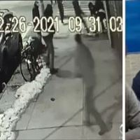 New York man, 45, with previous homicide conviction arrested in stabbing death of 'good Samaritan' who tried to stop vicious robbery on Brooklyn street