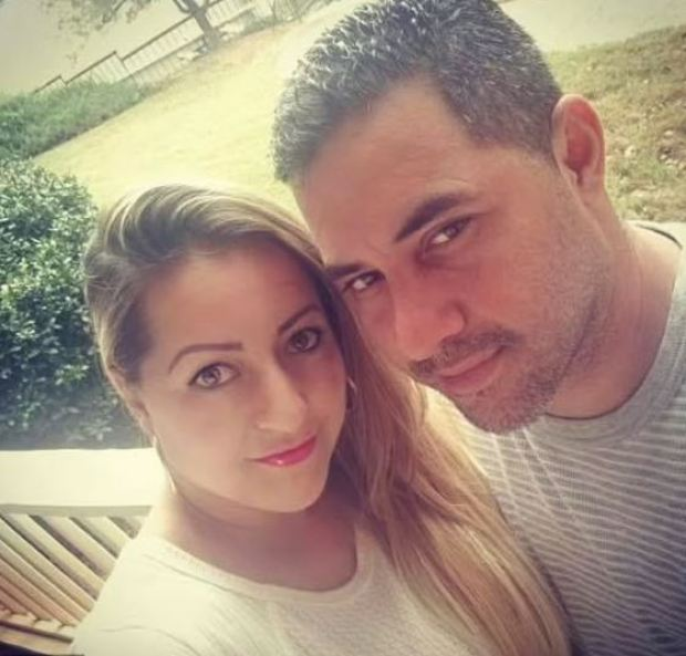 This image has an empty alt attribute; its file name is Rossana-Delgado-with-her-husband-Yhony-Castro-1.jpg