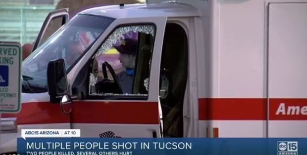 This image has an empty alt attribute; its file name is Shattered-window-in-an-ambulance-after-the-Leslie-Scarlett-shot-and-wounded-two-EMTs-in-Tucson-AZ-on-July-2019-2021.jpg