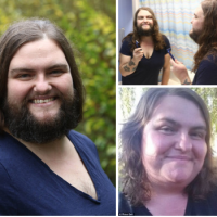 The lady has a full beard - Rose Geil grows out her 'beard' and says she fells more sexy and attractive to the men