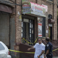 Man suspected in wife death hangs himself in Bronx warehouse, an apparent murder-suicide  - Cops hunting suspect find him dead in his furniture warehouse where his ex-wife, Djamila Requieghmuda, was slain a day earlier