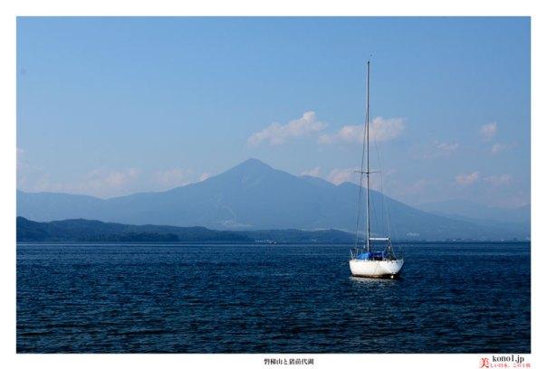 ブログ 磐梯山 猪苗代湖 ヨット
