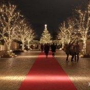 東京 夜景 クリスマスツリー イルミネーション 恵比寿ガーデンプレイス  LED バカラの巨大シャンデリア 歓びのかたち