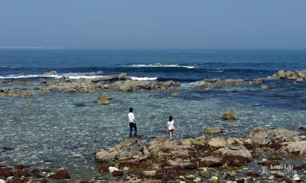 茨城県ひたちなか市 阿字ヶ浦 平磯海岸 隆起海岸