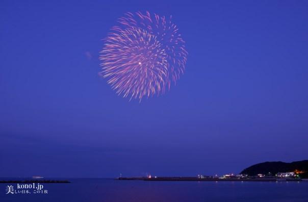 茨城県ひたちなか市 阿字ヶ浦海岸花火大会