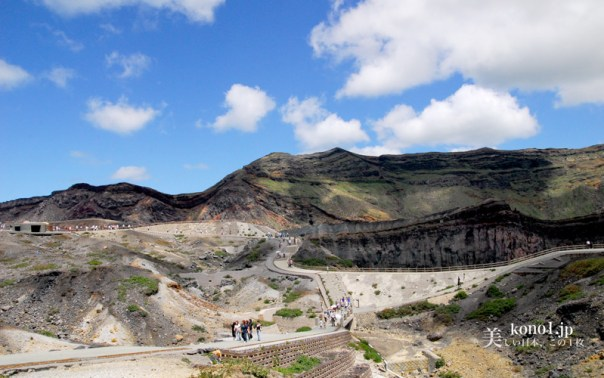 熊本県 阿蘇山 中岳 カルデラ 爆発 シェルター 草千里 砂千里