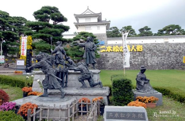 福島県 二本松市 提灯祭り 日本三大提灯祭り 二本松神社 太鼓台 神輿 霞ヶ城 二本松少年隊