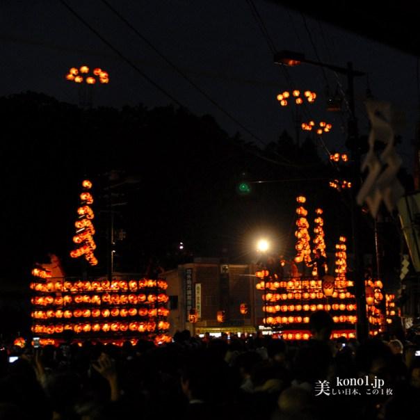 福島県 二本松市 提灯祭り 日本三大提灯祭り 二本松神社 太鼓台 神輿 霞ヶ城