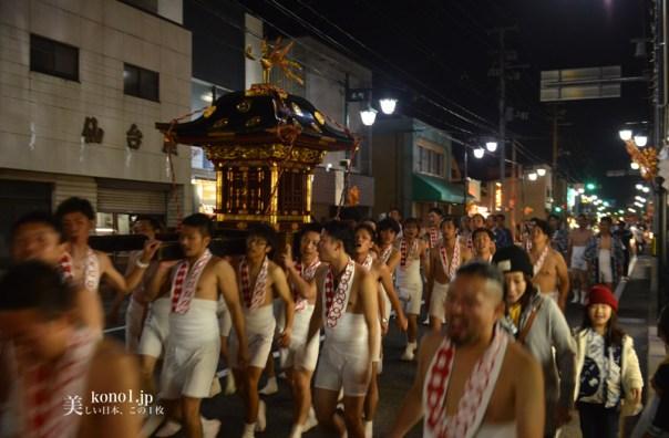 福島県 二本松市 提灯祭り本祭り 10月5日 日本三大提灯祭り 二本松神社 太鼓台 神輿 霞ヶ城