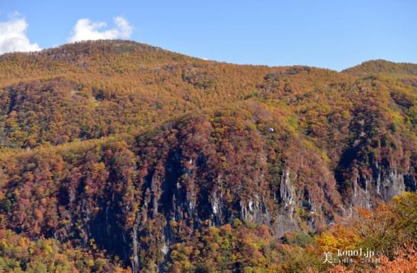 栃木県 日光 明智平 いろは坂 屏風岩 絶景 紅葉 ロープウェイ 華厳の滝 中禅寺湖