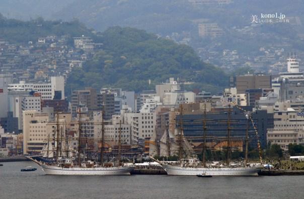長崎 帆船まつり 日本丸 海王丸 4月