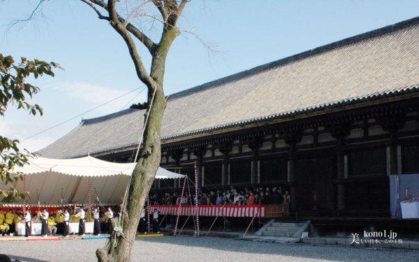 京都 通し矢 三十三間堂 1月 成人式