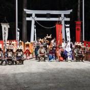 栃木県日光市 平家大祭 平家の落人伝説 湯西川温泉 平家の里 2016