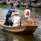 茨城県 潮来あやめまつり 潮来の花嫁さん 嫁入り舟 水郷潮来あやめ園