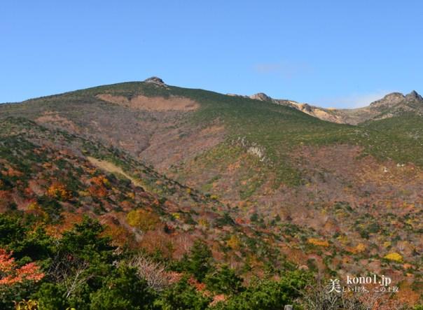 紅葉 安達太良山 あだたらやま 薬師岳 絶景