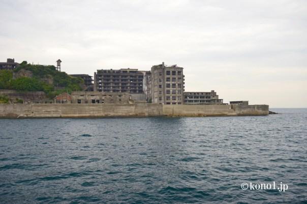 軍艦島 端島 炭鉱 廃墟 軍艦土佐 世界遺産 軍艦に見える 石炭 九州 長崎県 上陸 上陸証明書 やまさ海運