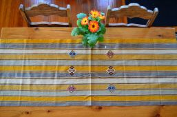 "4. $40.00 Measure: 17.5"" x 60"" (plus fringe) Hand washable. Amount available: 3 unit From San Gaspar Chajul, Quiché. Woven by Ixil-Maya women, of Asociación Chajulense."