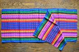 "$10.00 Measure: 11"" x 51"" (plus fringe) Very Soft. Hand washable. Amount available: 1 unit From Totonicapán."