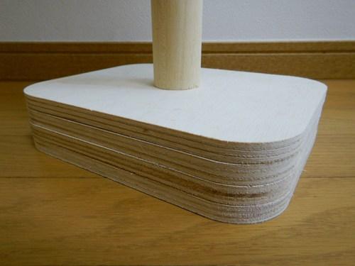 自作したコンパクトなサイドテーブル