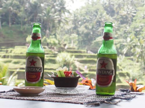 インドネシアのビンタンビール