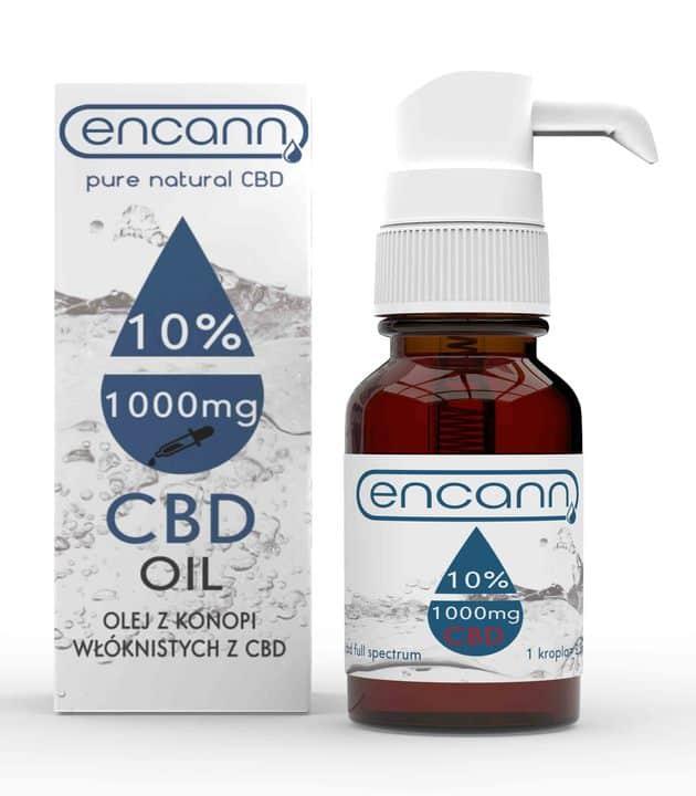 Olej CBD Encann 10%