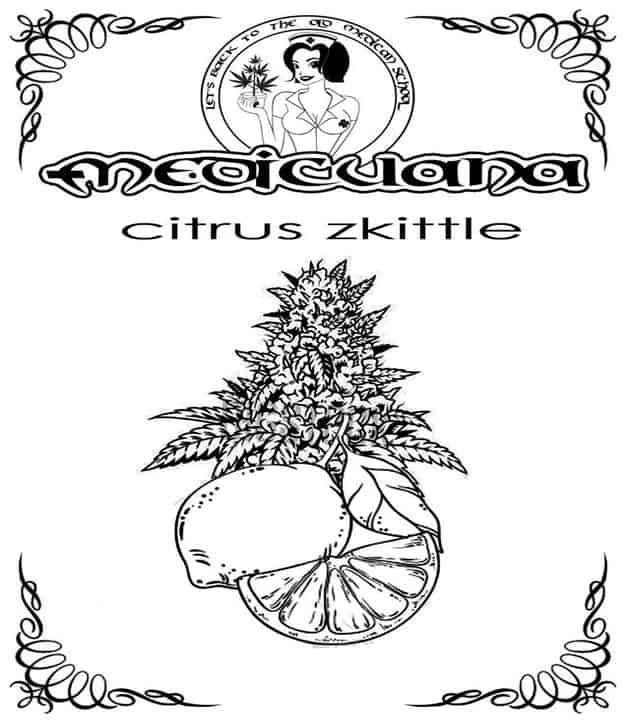 Susz CBD - Medicuana - Citrus Zkittle 6-8%