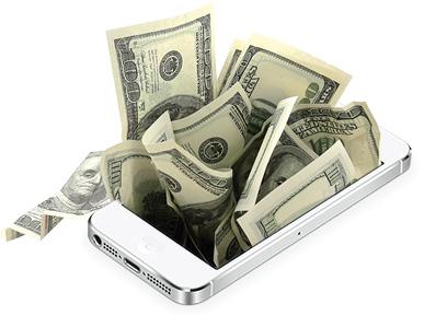 phone money