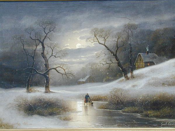 Johannnn Gustav Lange 1811 1887 Mulheim Am Rhein Dusseldorf