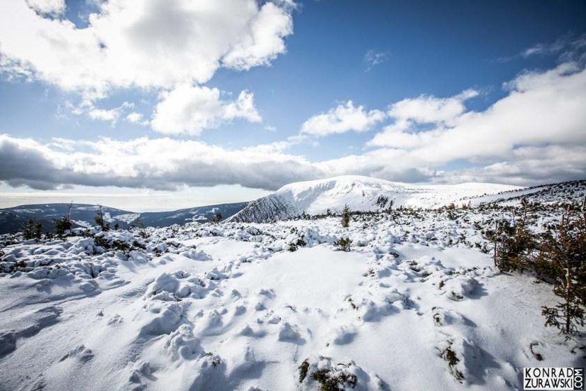 Na koniec zdjęcie zimowej i górskiej scenerii - Konrad Żurawski