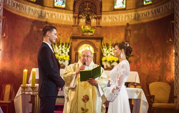 Kolorowy ślub Marty i Krzysztofa