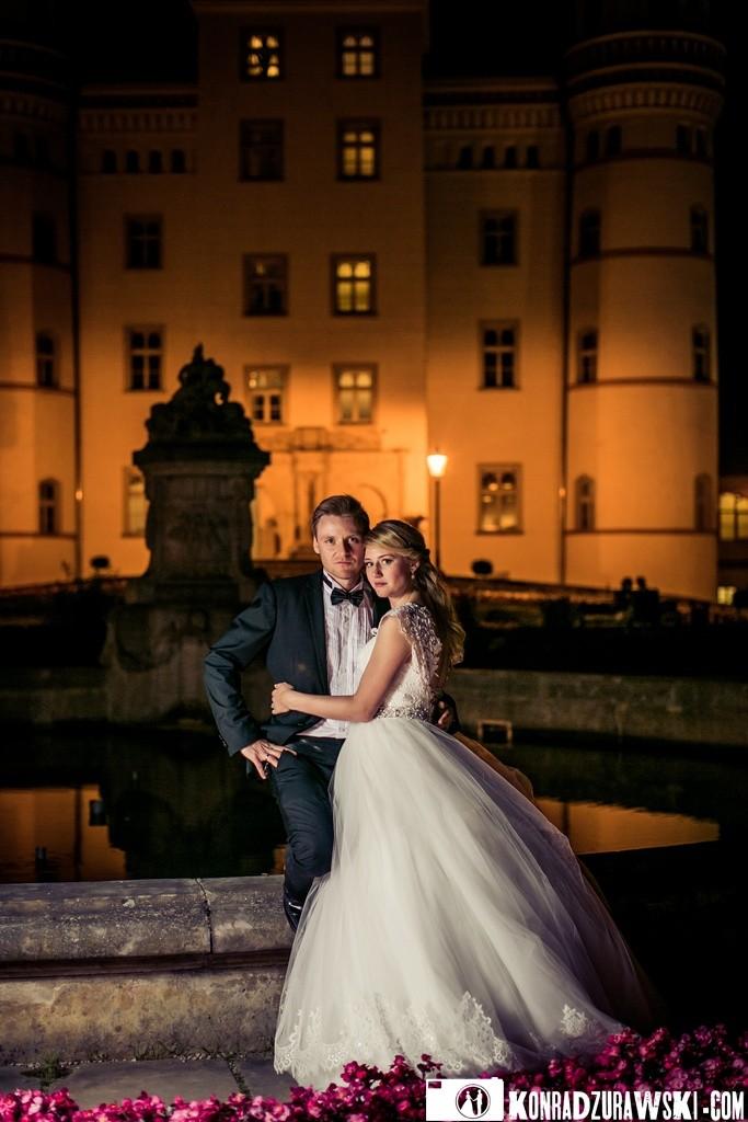 Ślub w Pałacu Wojanów - Jessi i Alex   Fotograf Konrad Żurawski