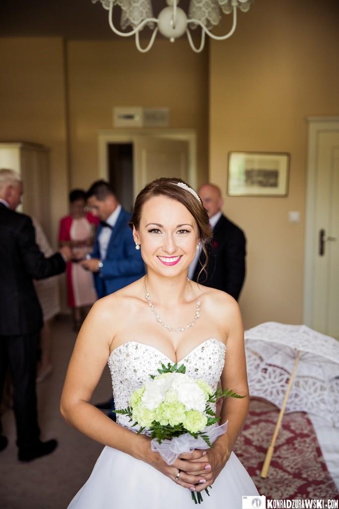 Tak wygląda szczęśliwa Panna Młoda przed ślubem   Konrad Żurawski