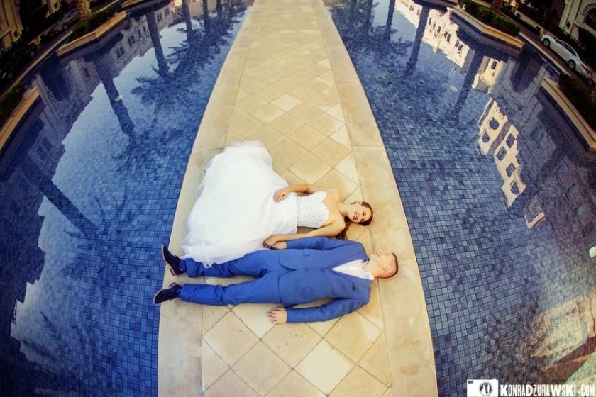 Kamila i Kamil podczas sesji zdjęciowej w Dubaju   Konrad Żurawski
