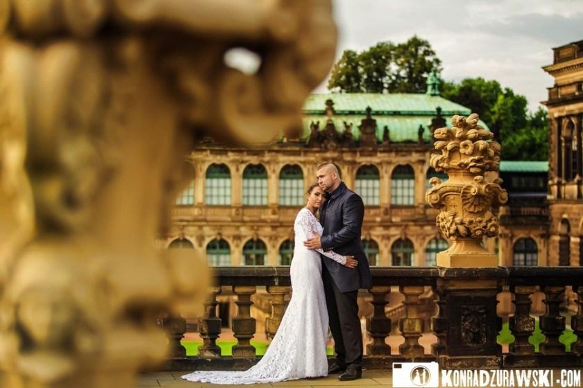 Sesja ślubna w Dreźnie według fotografa Konrada Żurawskiego