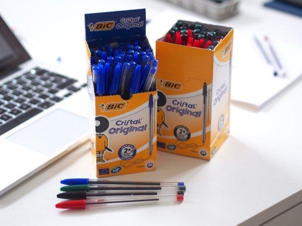 BIC Kugelschreiber Cristal Medium   Foto: konsensor.de