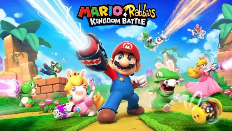 Mario+Rabbids Kingdom Battle logo
