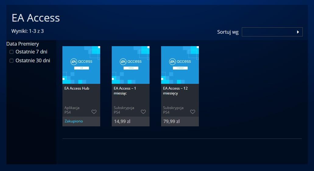 Usługa EA Access jest już dostępna na PS4  Wszystko, co