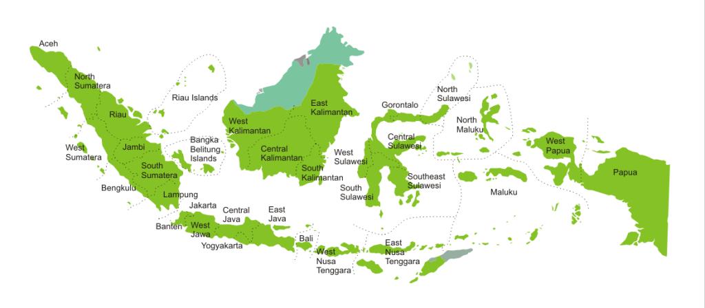 Peta Indonesia lengkap dengan provinsinya2