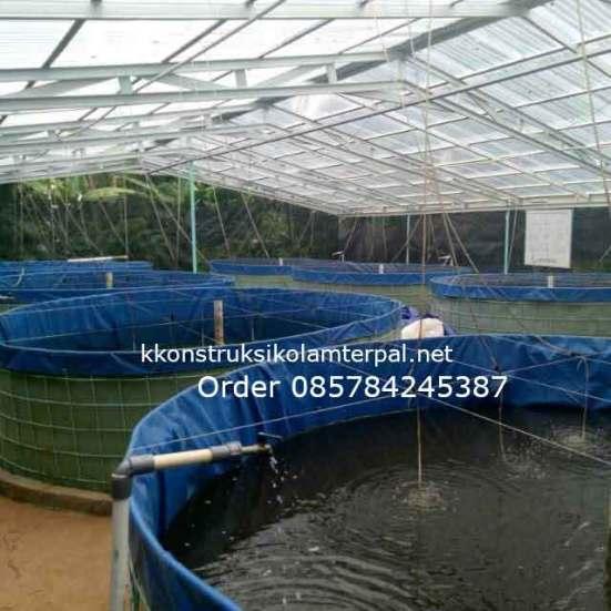 Testimoni konstruksi Jual kolam terpal 9