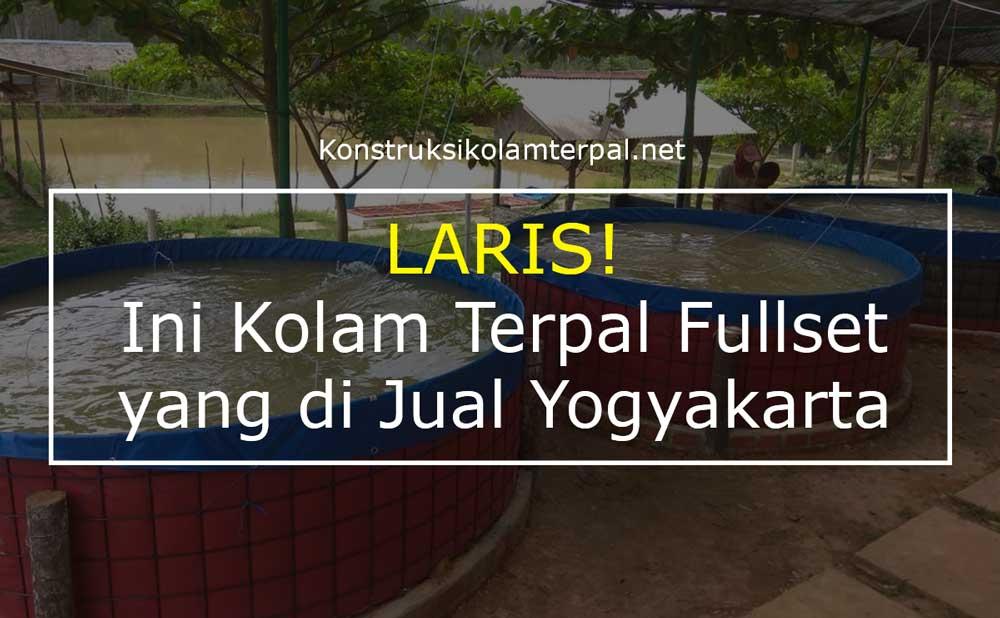LARIS! Ini Kolam Terpal Fullset yang di Jual Yogyakarta