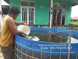 jual kolam terpal bulat Bogor