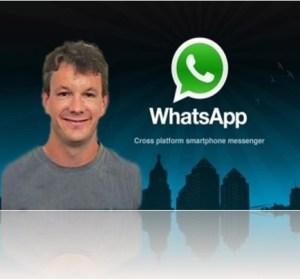 whatsapp-Brian acton