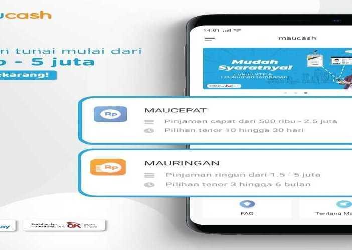 Pinjaman Online MauCash Proses Cepat Tanpa Agunan