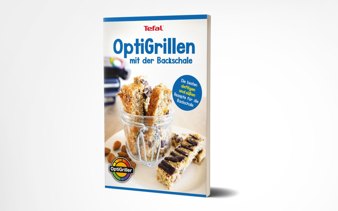 OptiGrill Backschale Rezeptbuch