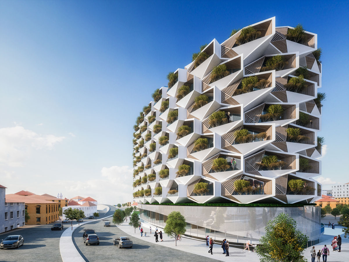 Sustainable Urban Rural Hybrid Architecture