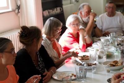 Fællesspisning i Medborger Caféen