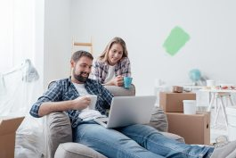 About Homeowners Relaxing During Home Renovation