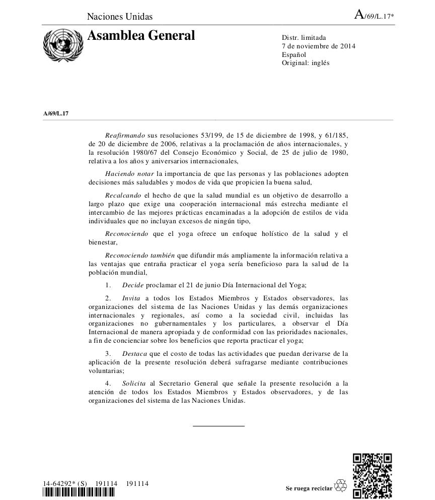 ResolucionONU-NacionesUnidasYoga2