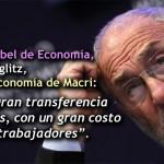 Premio Nobel de Economía: «Las primeras medidas del gobierno de Mauricio Macri son preocupantes»